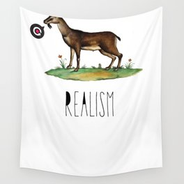 Realism Wall Tapestry
