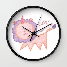 Cute but always sleepy Wall Clock