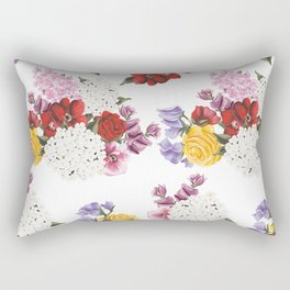 Colorful Garden Rectangular Pillow