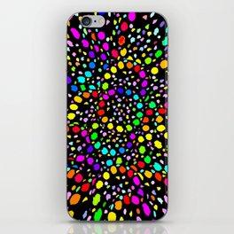 Black Psicodelia iPhone Skin