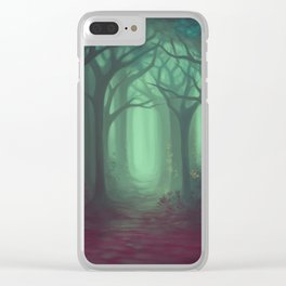 Nowhere Clear iPhone Case