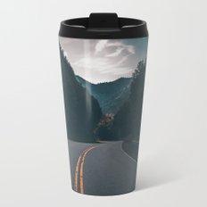 Road #Trees Travel Mug