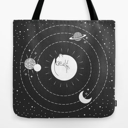 The Space Cat Tote Bag