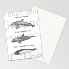 III. The Duodecimo Whale Stationery Cards
