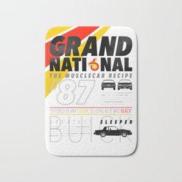 Grand National posters Bath Mat
