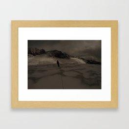 Climbing Into Framed Art Print