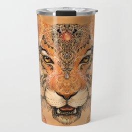 Boho Tribal Tiger Travel Mug