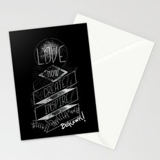 Love NOW, Create, Inspire, Pppfffft ppffft p-ppfft Stationery Cards