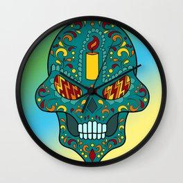 Sugar Skull #13 Wall Clock