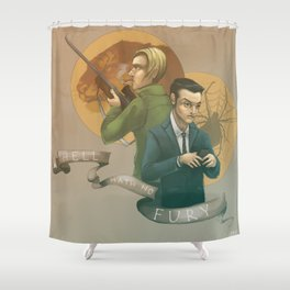 Hell Hath No Fury Shower Curtain