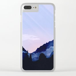 Sunny Rise Clear iPhone Case