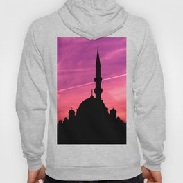 mosque silhouette istanbul Hoody