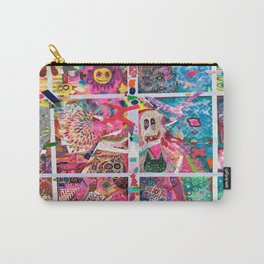Subconsious Safari By Artist Jeff Parrott Psyexpression Carry-All Pouch