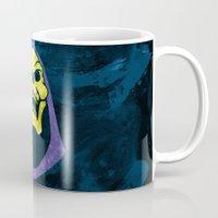 skeletor Mugs featuring Skeletor by Some_Designs
