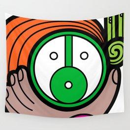 Green Child - Niño Verde Wall Tapestry