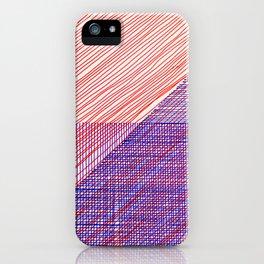 Line Art 3 iPhone Case
