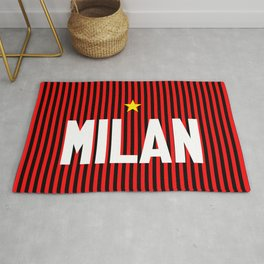 I Rossoneri Milano Rug