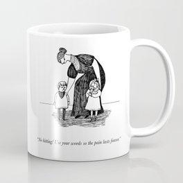 Use Your Words (An Homage To Edward Gorey) Coffee Mug
