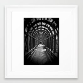 Beyond the Gate... Framed Art Print
