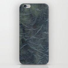 Steel Blue Paper Texture iPhone & iPod Skin
