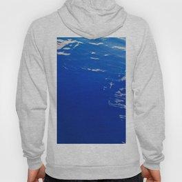 Neon Blue Ocean Hoody