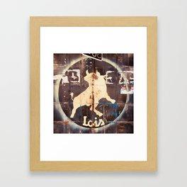 El Toro - Lois Framed Art Print