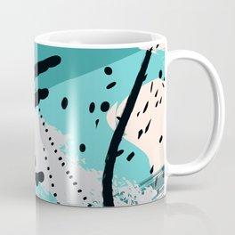 Sea green splash Coffee Mug