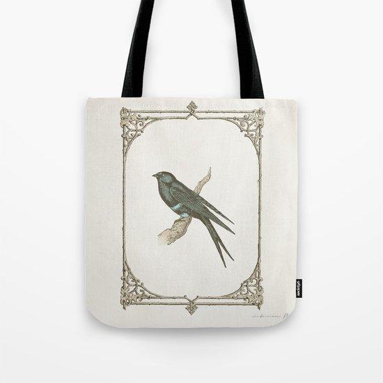 A Victorian Bird Tote Bag
