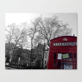 telephone @ soho square Canvas Print