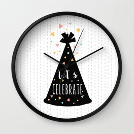 Celebration Wall Clock