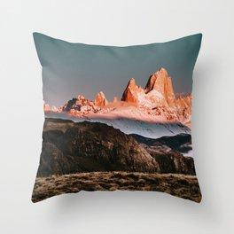 Patagonia Fitz Roy Sunrise Throw Pillow