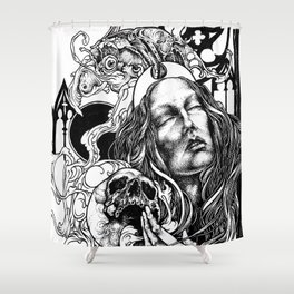 Night Overture Shower Curtain