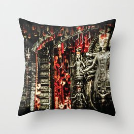 The Desaturated Mother Throw Pillow