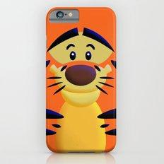 Cute Orange Cartoons Tiger Apple iPhone 4 4s 5 5s 5c, ipod, ipad, pillow case and tshirt Slim Case iPhone 6