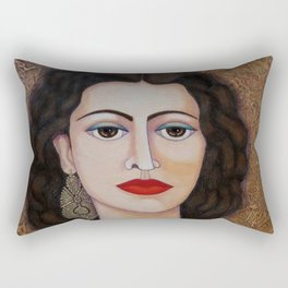 Amalia Rodrigues – Music born in the soul Rectangular Pillow