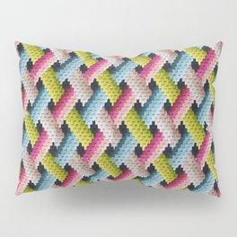 Antique Needlepoint  Pillow Sham