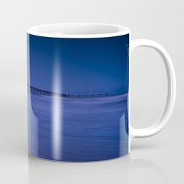 Pier photography night Coffee Mug