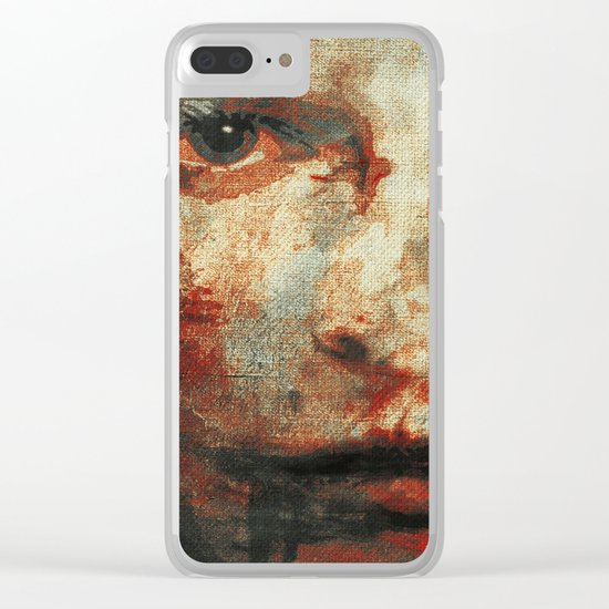 The Human Race 3 Clear iPhone Case