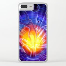 Life's Dream Clear iPhone Case