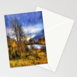 Fall Lake Stationery Cards