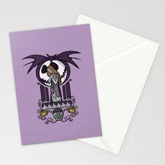 Nightmare Nouveau Stationery Cards