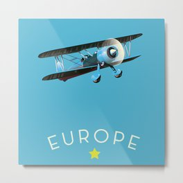 Europe Metal Print