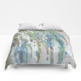Spring Waterfall Comforters
