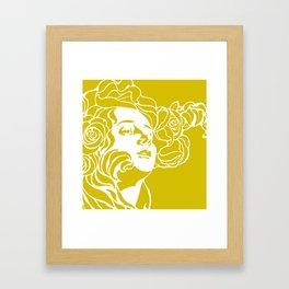 """Koloman (Kolo) Moser """"Girl's head"""" (4) Framed Art Print"""