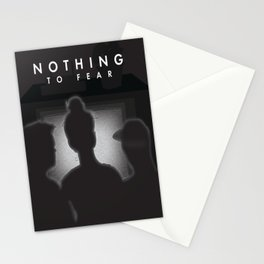 Nothing to Fear Stationery Cards
