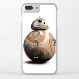 BB-8 by dana alfonso Clear iPhone Case