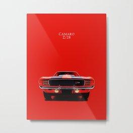 Camaro Z/28 Metal Print
