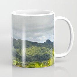 View from the East peak of El Cacique range - El Yunque rainforest PR Coffee Mug