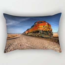 BNSF Freight  Rectangular Pillow