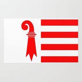 Canton Jura region switzerland country flag swiss Rug